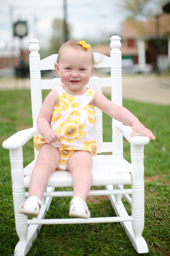toddler photo props, white chair, cracker barrel kids rocking chair