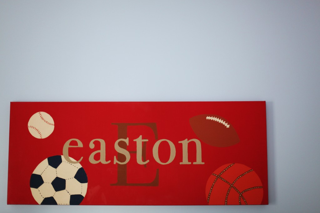 etsy, name art, Easton