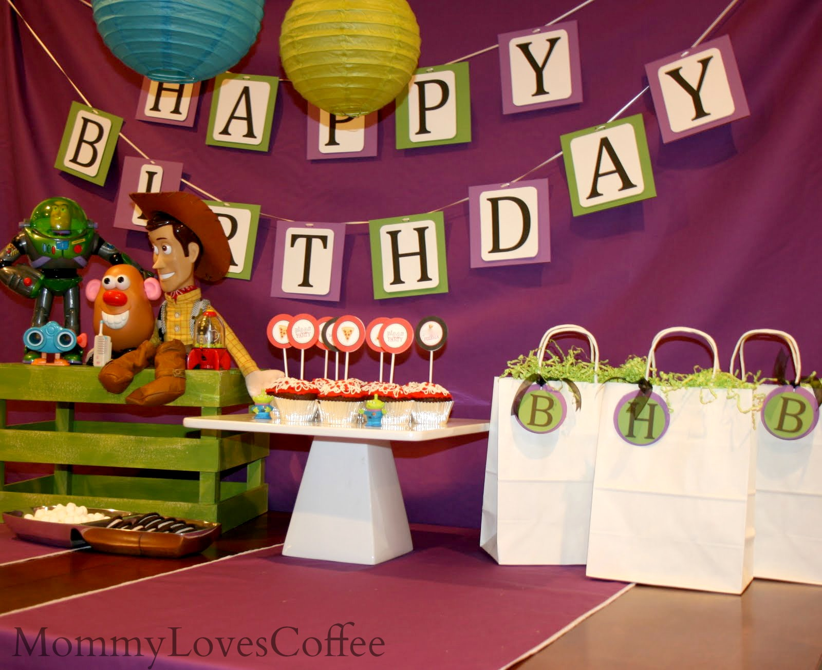 How To Easy Inexpensive Toy Story Themed Kids Party