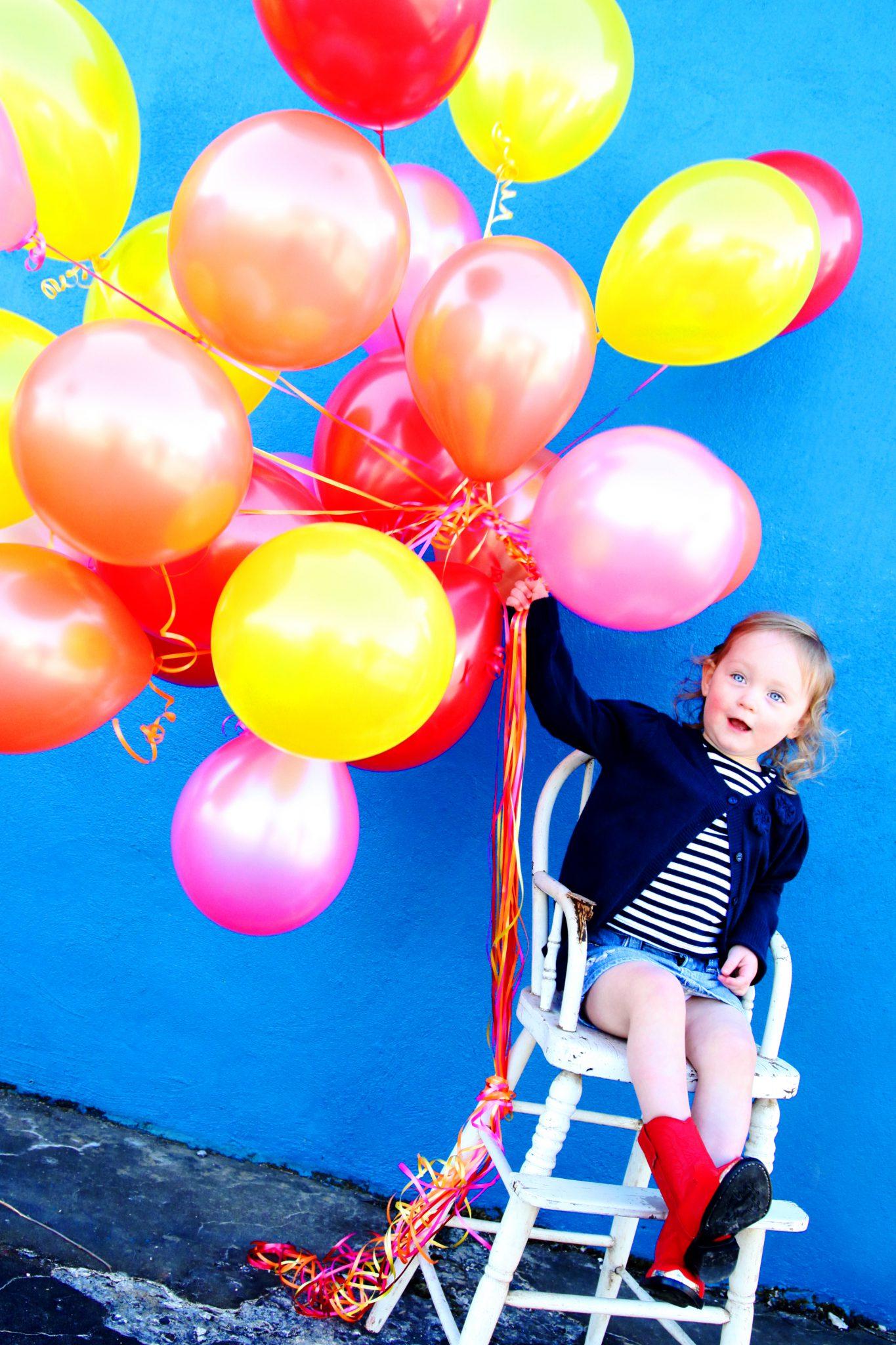 Kid Photo Ideas Balloon Photography