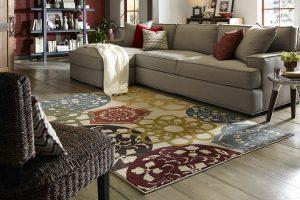Anton rug, Kohl's rug, medallion rug, multicolored rug, casual medallion rug, mohawk rug, mohawk home