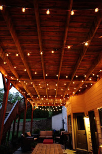 Bower Power Blog, Outdoor Decor, Outdoor Living, Lighting, String Lights, Summer, Design & Style