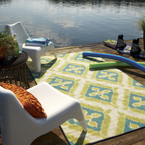 Summer Splash Outdoor Rug 11740 495, outdoor rug, amazon rug, becker rug