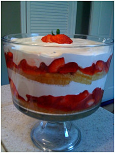 summer, summertime dessert, light airy treat, favorite strawberry shortcake recipe