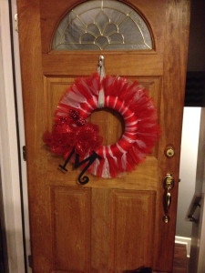 DIY Valentine's Day Tulle Wreath