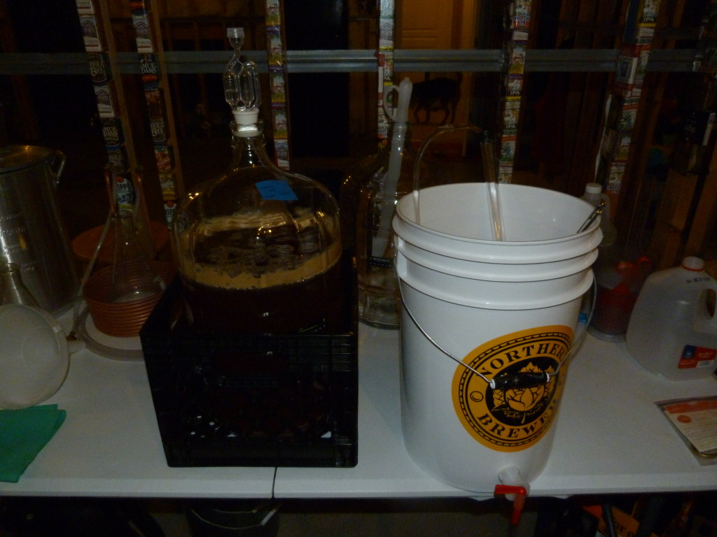fermentation, active fermentation, beer brewing, home brewed beer, beer recipe, cream ale, home brewing