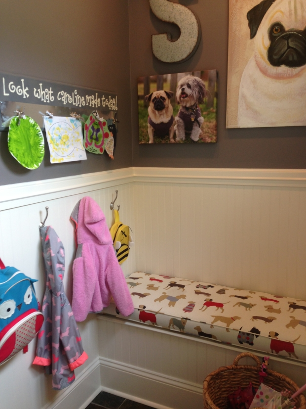 Creative Mudroom for Children and small spaces