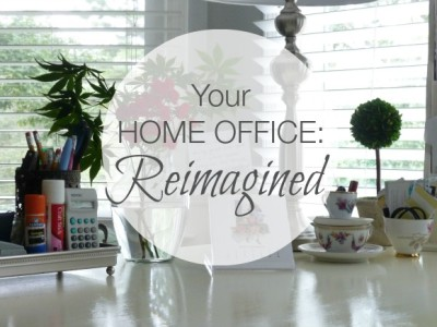 Home Office Reimagined - Mom space - Mom cave - Room makeover - Mohawk Homescapes