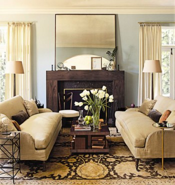 Contemporary - Home - Decor - Modern Mirrors - Mantle - Tables - DeringHall.com - Mohawk Homescapes