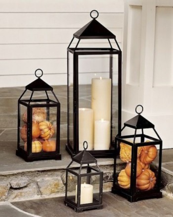 Mohawk - Homescapes - Porch - Fall - Decor - Home - Design - candle - http://www.shelterness.com/