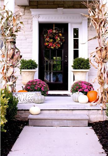 Mohawk - Homescapes - Porch - Fall - Decor - Home - Design - http://www.thistlewoodfarms.com