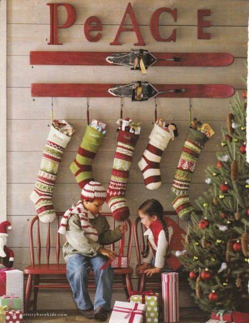 Astounding Mantleless Stocking Displays Mohawk Home Download Free Architecture Designs Scobabritishbridgeorg