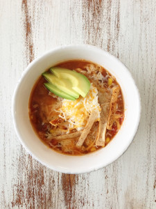 Chicken tortilla soup, one pot meals, Mohawk Homescapes, for the home, lifestyle, recipes