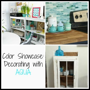 Color Showcase - Decorating with Aqua - Mohawk Homescapes