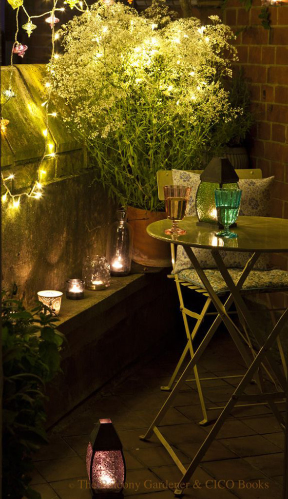 HomeMyDesign - Gorgeous Small Patio - Small Patio Makeover - Mohawk Homescapes