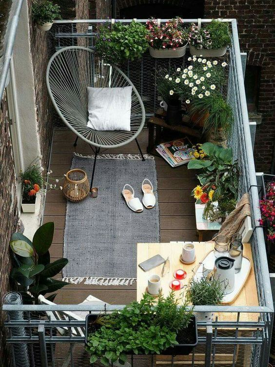 Small Outdoor Patio