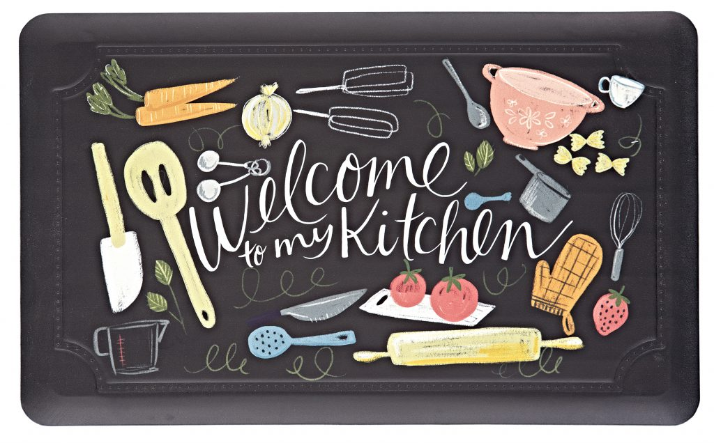 Dri Pro Anti-Fatigue Mat from Mohawk Home 'Welcome to my Kitchen'