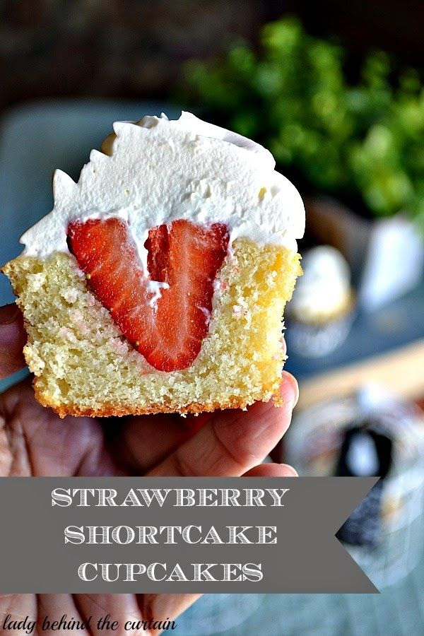 Strawberry shortcake cupcake recipe