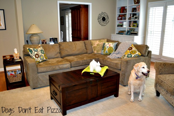 Fun And Comfortable Family Room Mohawk Homescapes