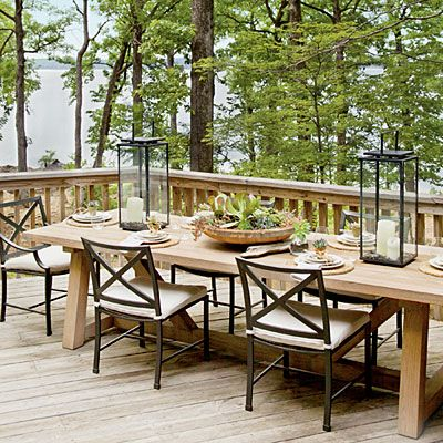 Lake House Design Mohawk Home