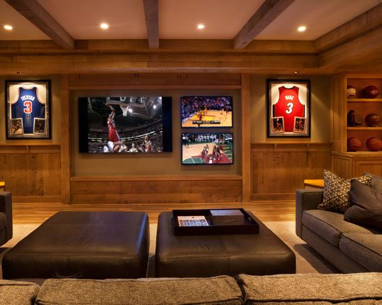 Man Cave Cinema Room : Mind your man cave manners mohawk home