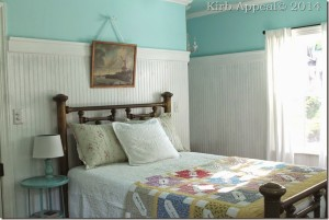 vintage guest room with pastels - rethinking pastels - Mohawk Homescapes