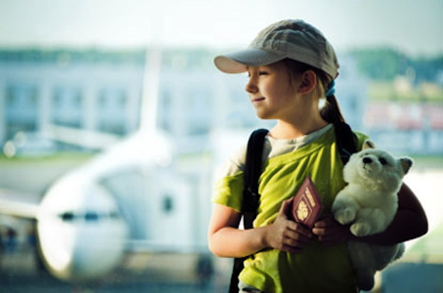 Girl at Airport
