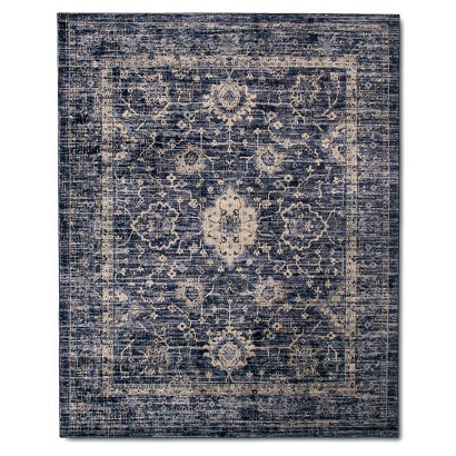 The Industrial Shop Vintage Distressed Area Rug at Target - vintage home decor ideas on a budget - Mohawk Homescapes
