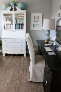 Home Office Inspiration from Mohawk Flooring and The Inspired Room