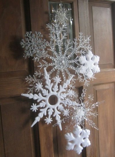 Winter Wreaths - winter wreath - ideas - crafts - Mohawk Home - decoratingideas1.com