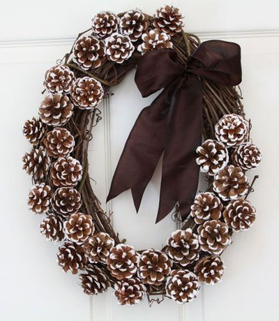 Winter Wreaths - DIY winter wreath ideas - crafts - Mohawk Home - womansday