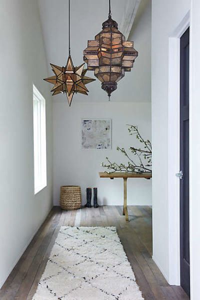 Mohawk Home - statement lighting - foyer - Heidi Milton - anthropologie.com
