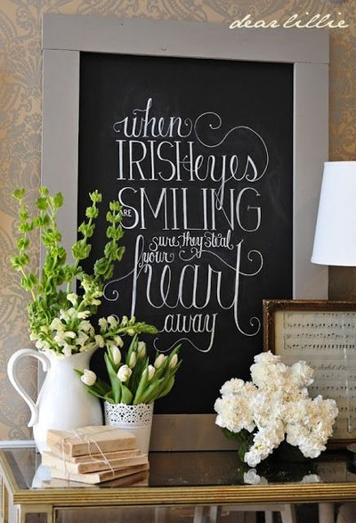 St Patricks Day Inspiration - Mohawk Home - Dear Lillie Blog