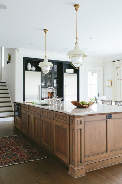 Mohawk Home - statement lighting - kitchen - Heidi Milton - katemarkerinteriors.com