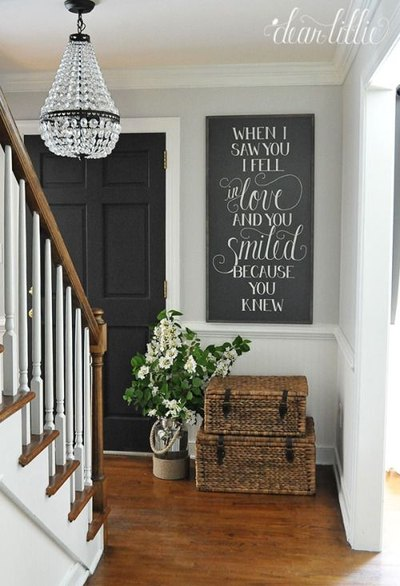 Mohawk Home - statement lighting - foyer - Heidi Milton - dearlillieblog
