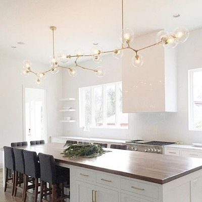 Mohawk Home - statement lighting - kitchen - Heidi Milton - pencilandpaperco