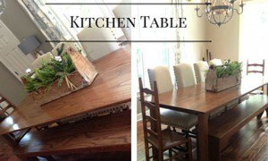 Kitchen Table for Country Kitchen Decor Ideas | Mohawk Homescapes