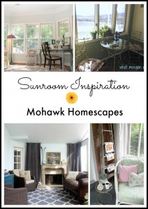 Sunroom Inspiration | Karen Cooper | Dogs Don't Eat Pizza | Mohawk Homescapes