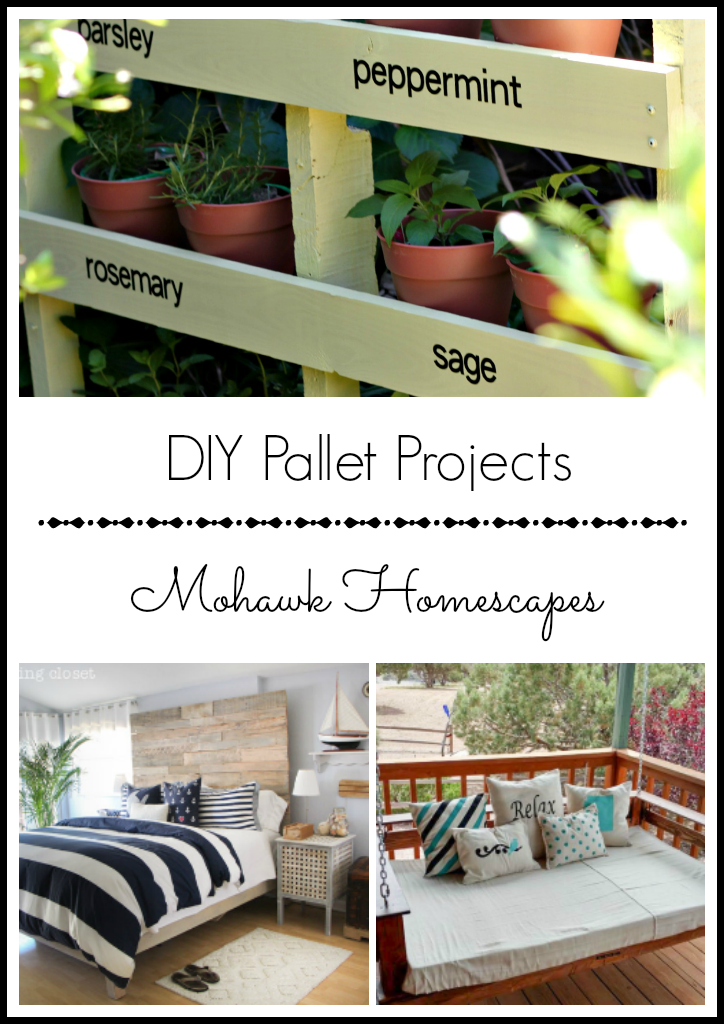 DIY pallet projects | Karen Cooper | Dogs Don't Eat Pizza | Mohawk Homescapes