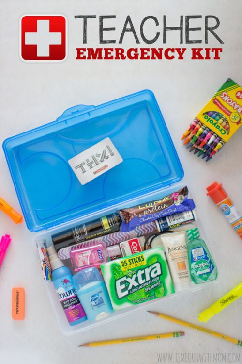 Teacher emergency kit - appreciation ideas