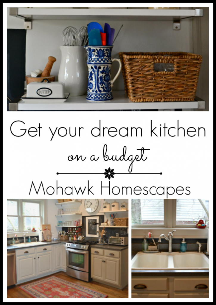 Get Your Dream Kitchen on a Budget | Karen Cooper | Dogs Don't Eat Pizza | Mohawk Homescapes