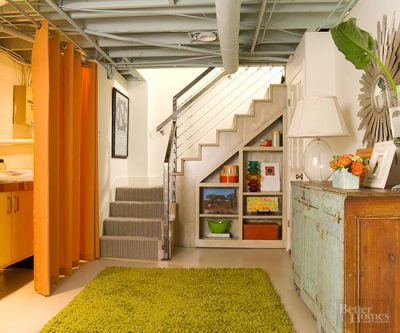 Transform basement into usable space, Mohawk basement rug, basement decor