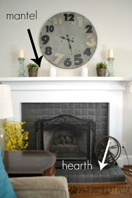 Fireplace Decor | Karen Cooper | Dogs Don't Eat Pizza | Mohawk Homescapes