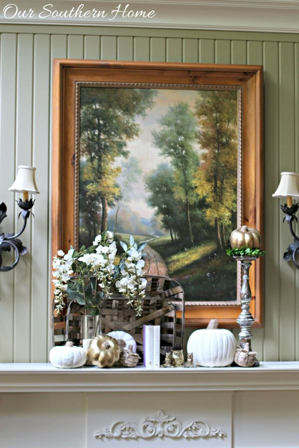 Fireplace Decor | Karen Cooper | Dogs Don't Eat Pizza | Our Southern Home | Mohawk Homescapes