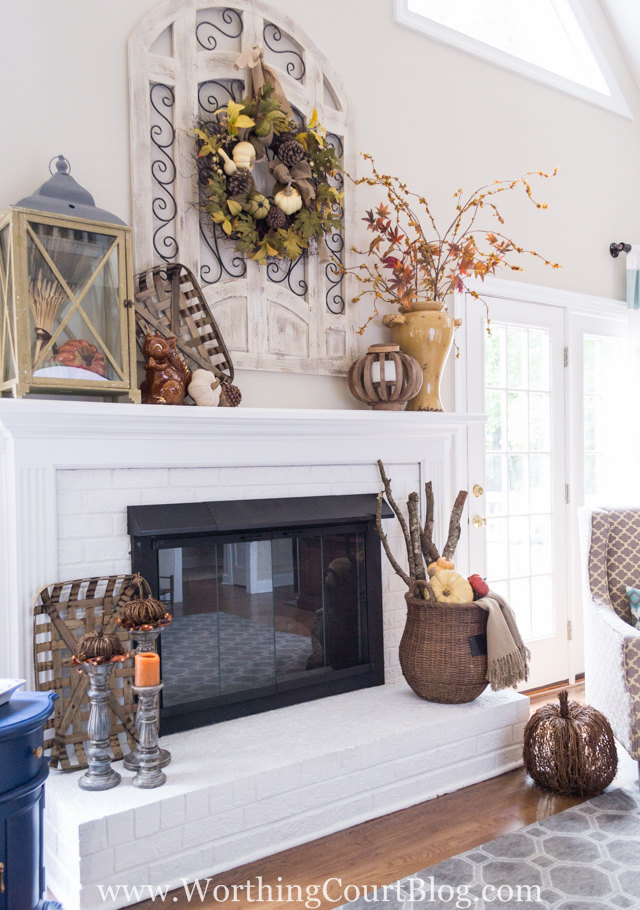 Fireplace Decor | Karen Cooper | Dogs Don't Eat Pizza | Worthing Court Blog | Mohawk Homescapes