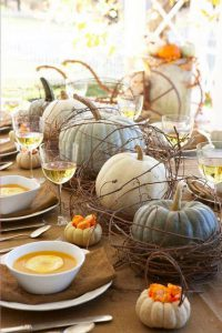 Inspiring natural tablescapes for fall