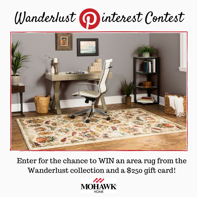 Get Pinspired To Win Wanderlust Area Rug 250 Gift Card