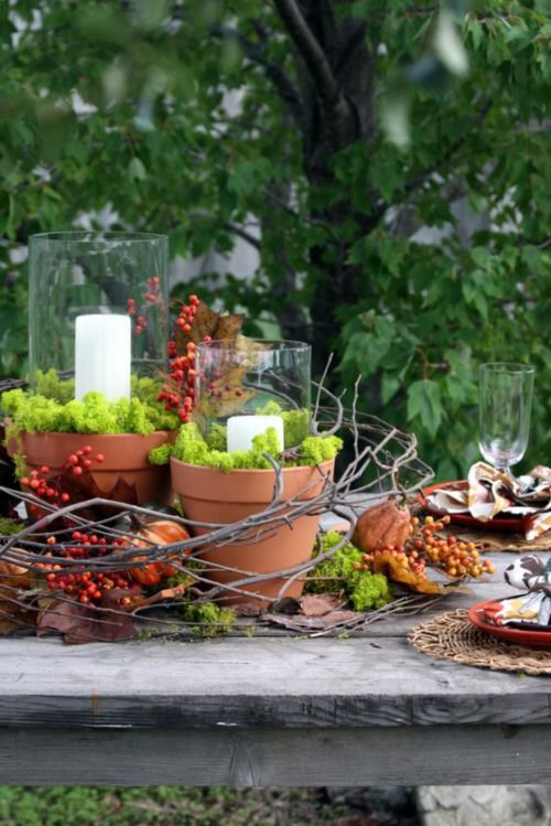Natural Tablescapes for Fall - Inspiring Fall Tables - Heidi Milton - Mohawk Home - Indeed Decor
