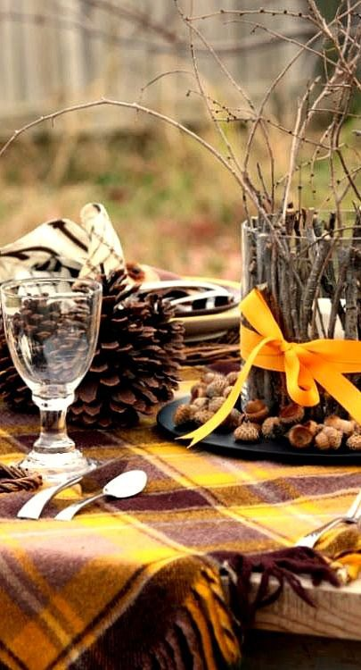 Natural Tablescapes for Fall - Inspiring Fall Tables - Heidi Milton - Mohawk Home - Something Sweet Designs