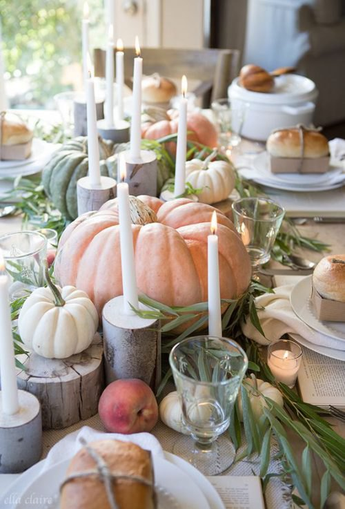 Natural Tablescapes for Fall - Inspiring Fall Tables - Heidi Milton - Mohawk Home - Ella Claire